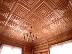 Оформление потолочной плиткой, дизайн потолков красивыми рисунками