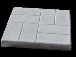 Размеры тротуарной плитки - на любой вкус