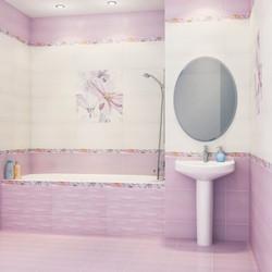 Советы по выбору настенной плитки в ванную и кухню